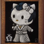 Hello Kitty Velvet Elvis