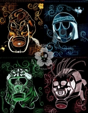 The Dead Ones masks