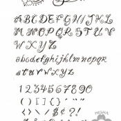 The Dead Ones font