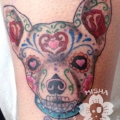 day of the dead doggie
