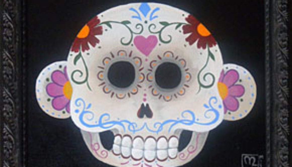 MonkiChi Sugar Skull