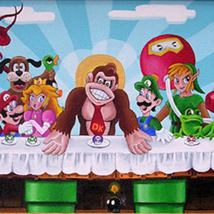 "Donkey Kong's Last Supper ""Comic-Con Edition"" Sold Out!"